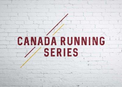 Canada Running Series - Logo